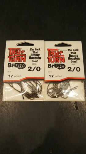 17 Tru-Turn The Brute 007Z Size 2//0 Qty 2 Packs
