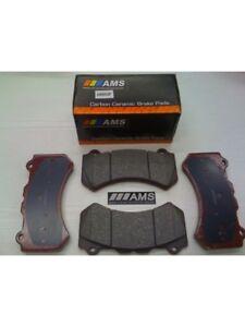 AMS R35 / GTR Front Carbon Ceramice Pads