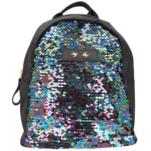 Depesche Kleiner Trend Love Rucksack Mädchen mit Streichpailletten Mini Tasche