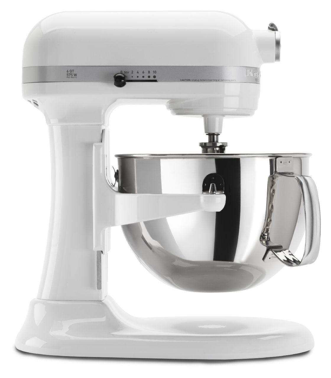 KitchenAid 6Qt Pro 600 Mixer - blanc