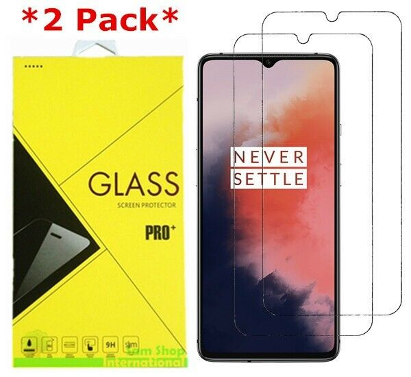 2-Pack Premium Tempered Glass Screen Protector Film Cover For OnePlus 7T