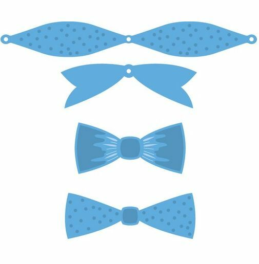 Marianne D Creatable Mix & match bows LR0448 13,0x16,0cm 394448