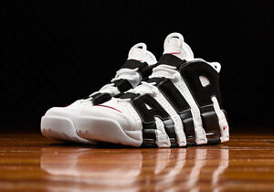 51cb420c88a Nike Air More Uptempo Scottie Pippen White Black Red 414962-105 Men ...
