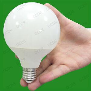 1 X 15w Led G95 Décor 95mm Globe 3500k Chaud Blanc Lampe, Es, E27