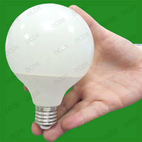 Es 15W LED G95 Décor 95mm Globe 3500K Chaud Blanc Lampe E27 Vis Ampoule Lampe