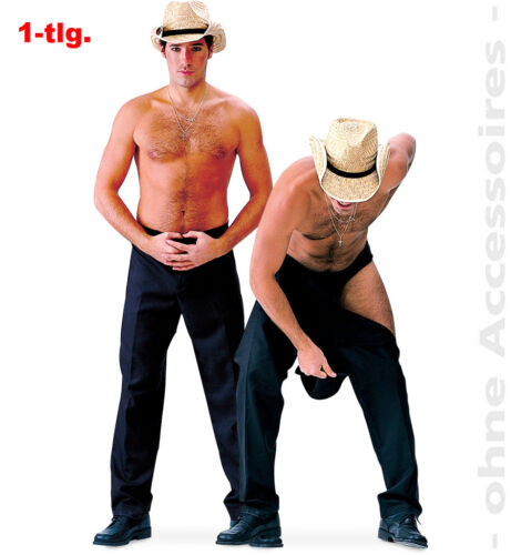 F2958 Strip-Hose Stripper Striphose Männerballett  JGA Striphose 48//50-56