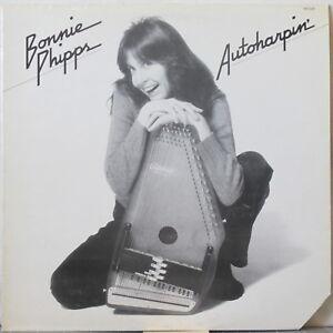 BONNIE PHIPPS Autoharpin' LP Folk w/ autoharp, voice, guitar, cello, concertina
