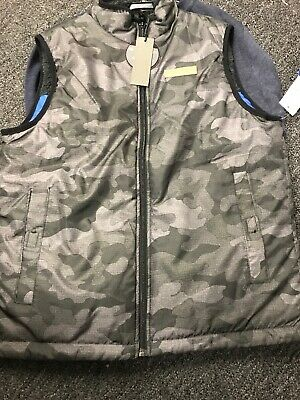 NWT Buffalo David Bitton Girls 2-Piece Reversible Vest Set M 10//12