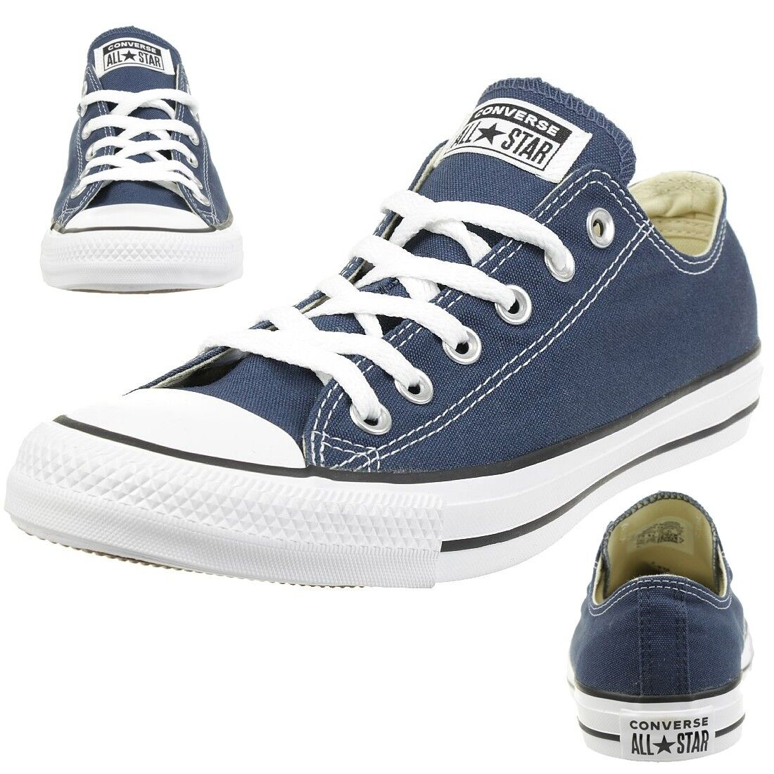 Converse All Star OX Chuck Schuhe Sneaker canvas Navy M9697C
