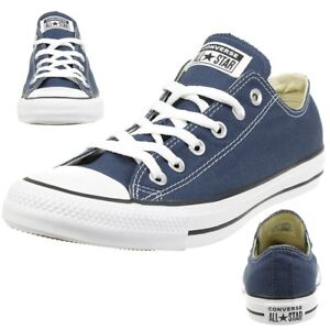 Details zu Converse All Star OX Chuck Schuhe Sneaker canvas Navy M9697C