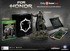 For-Honor-Apollyon-Collector-039-s-Edition-for-XBOX-ONE-14-034-Statue-Gold-Edition-NEW