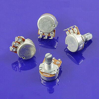 B500k Split Shaft Guitar Potentiometer Pots Audio Tone 6 Switch Control New