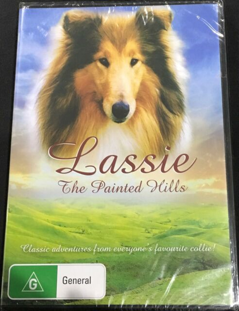 The Painted Hills - Lassie (dvd) Brand New Sealed R4