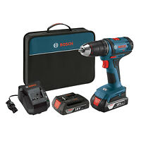 Bosch 18 Volt Cordless Li-ion 1/2 Inch Drill Driver Kit (certified Refurbished) on Sale