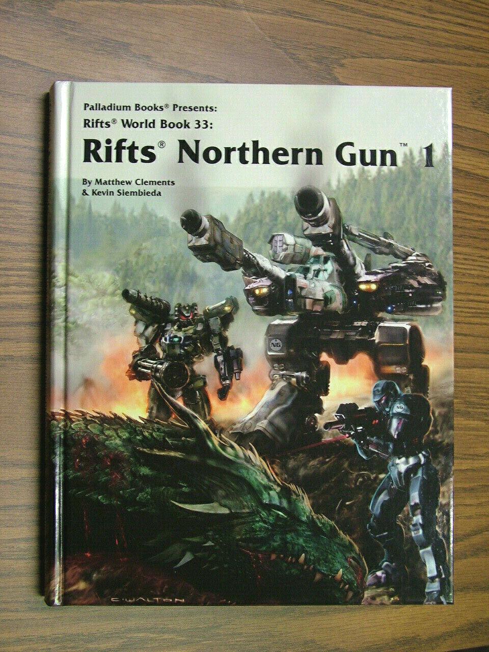 Northern Gun One, Färg Hardcover, skrivarfirma, sig.s.