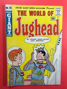 THE-WORLD-OF-JUGHEAD-19-Archie-GIANT-Series-Dec-1962-Very-Good
