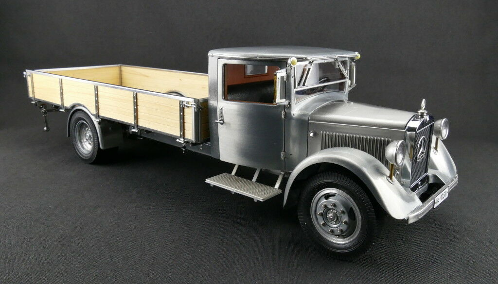 Cmc M-171 Mercedes-Benz Lkw Lo 2750 Plateforme Camion,Clear-Finish Version 1 18