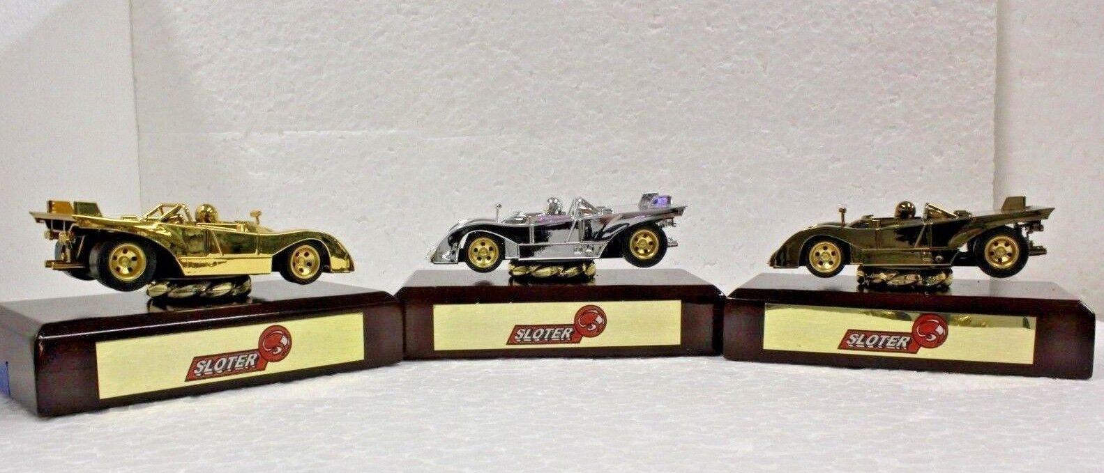 Sloter trofeo Set-oro, plata y bronce  ranura de coche trofeo mostrar sólo