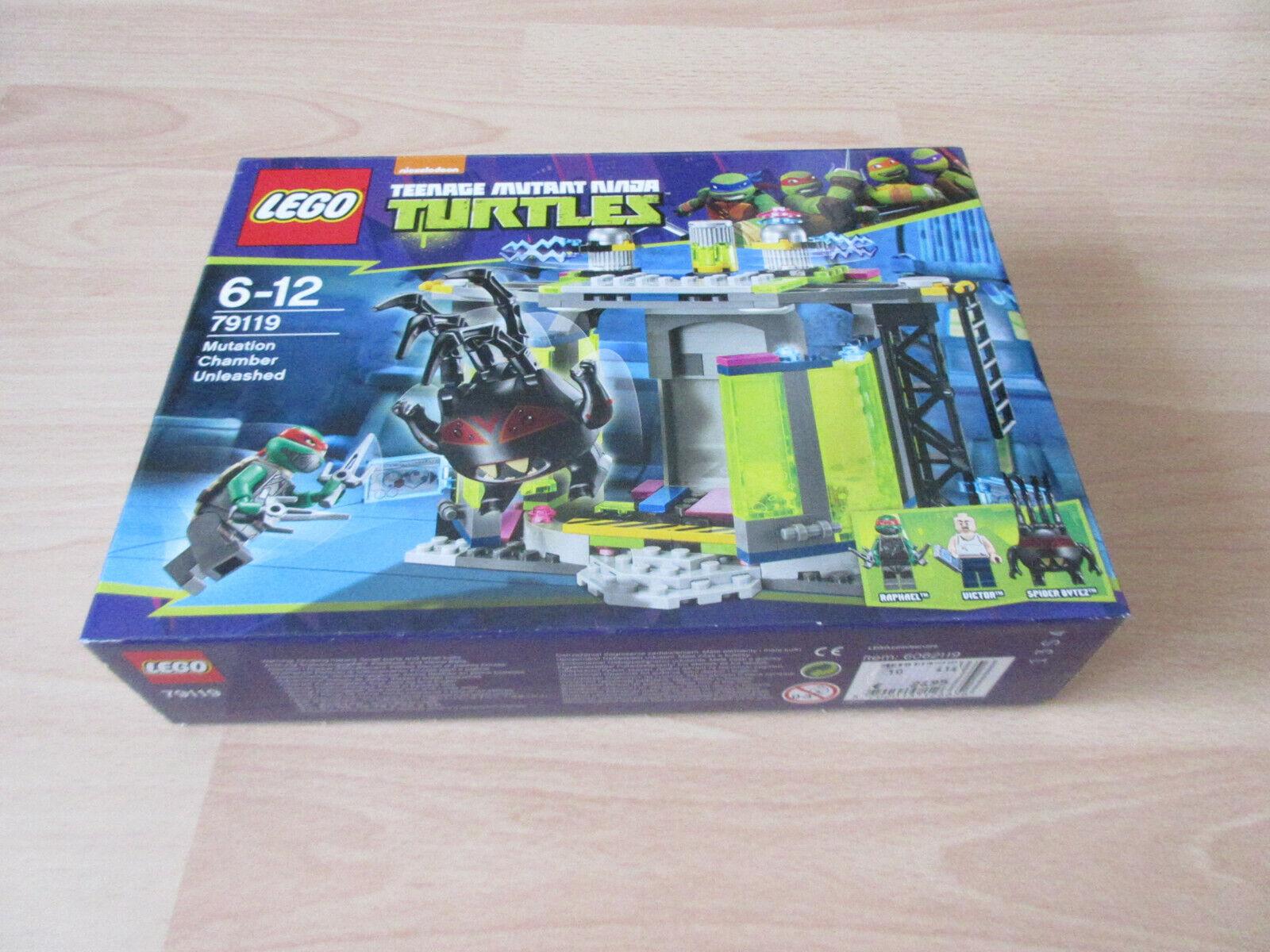 LEGO TMNT 79119 Ninja Turtles Die Entdeckung der Mutationskammer NEU & OVP