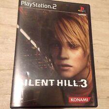 Silent Hill 3 + Soundtrack (Sony PlayStation 2, 2003)  PS2 No Pamphlet