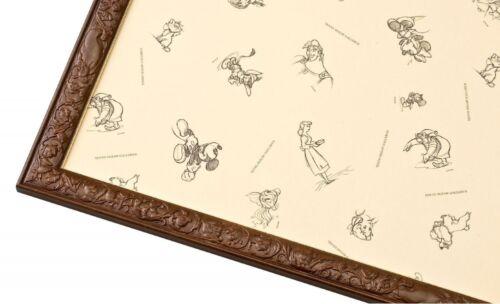 Disney Jigsaw Puzzle Frame Art Figure Panel 51x73.5cm JAPAN F/S