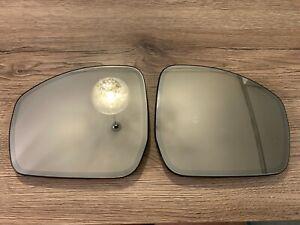 Range Rover Evoque OEM LH RH mirror glass SET With heating