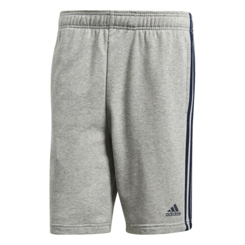 BK7469 adidas Essentials 3 Streifen French Terry Shorts grau