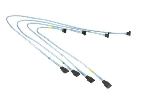 SUPERMICRO CBL-0180L-01 SATA Round Straight-Right Angle 70//59//48//38cm Cables