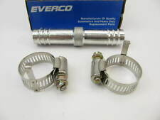 "90 Degree 3//8/"" X 5//8/""-18 3 Barb Everco A8101 Size 6 A//C Hose End Fitting"