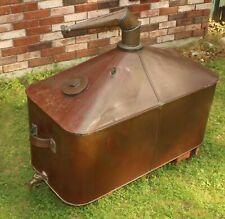 WOW! Large Antique 40 Gallon Moonshine Whiskey Copper Still NR