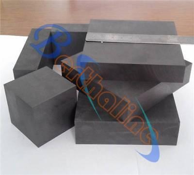 20mm 2 pcs High Purity 99.9/% Graphite Ingot Block 50mm 50mm