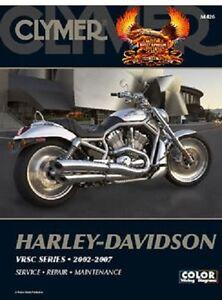 clymer service manual harley davidson v rod vrscdx night rod special rh ebay com Harley-Davidson Motorcycle Service Manuals Harley-Davidson OEM Repair Manuals 1995 Softails Heritage