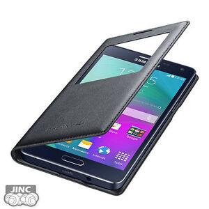 Genuine-Original-Samsung-SM-A500K-A500L-Galaxy-A5-SVIEW-S-VIEW-Flip-Cover-Case