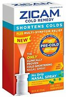 Zicam Cold Remedy Pre Cold Medicine No Drip Nasal Spray Cooling Menthol 0.5 Oz on sale