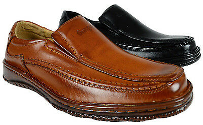 MEN EVERGREEN SLIP-ON SHOES LOAFERS DRESS/CAUSAL SHOES MAN-MADE LIGHTWEIGHT NEW