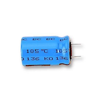 QTY=2pcs 470uF 16V 10x25mm Axial Aluminum Capacitors MAL203125471E3 Vishay BC