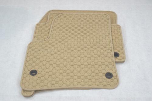 Gummi- Fußmatten NEU$$$ BEIGE $$$ Gummimatten für VW Touareg 7L 2002-2010