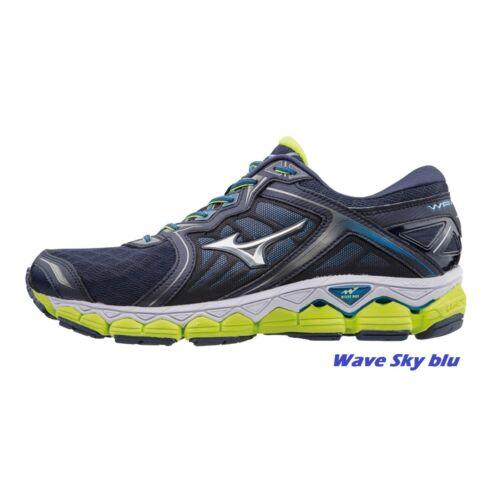 MIZUNO wave SKY 1 2 scarpe running uomo triathlon corsa palestra blu J1GC1802