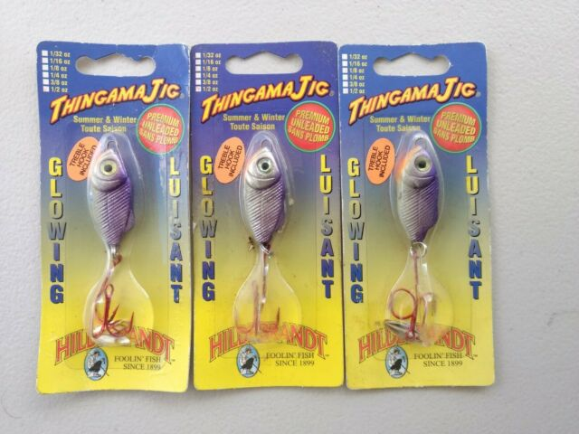 3 Hildebrandt Thingama Jig Glowing Ice Fishing Jigs 2224 For Sale Online