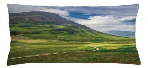 Schottland Kissenbezug Fußweg in Highland Maschienenwaschbar