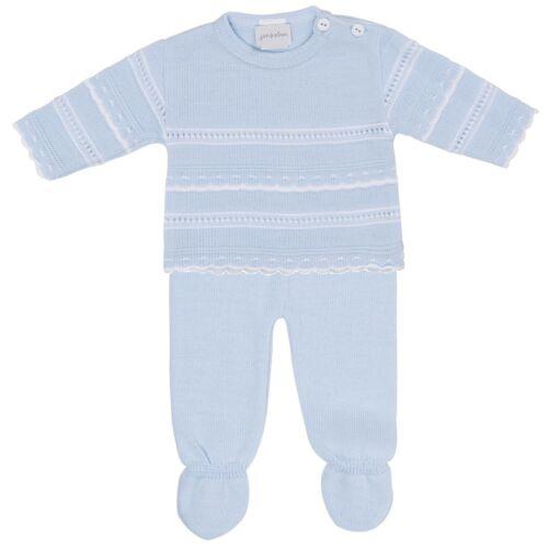 Stunning Dandelion Baby Boy Knitted 2pc leggings set Spanish//Romany//Traditonal