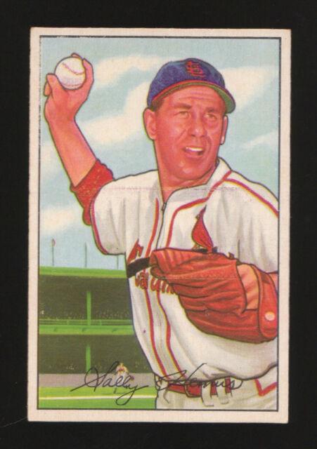 1952 BOWMAN #212 SOLLY HEMUS ST. LOUIS CARDINALS BASEBALL CARD NM