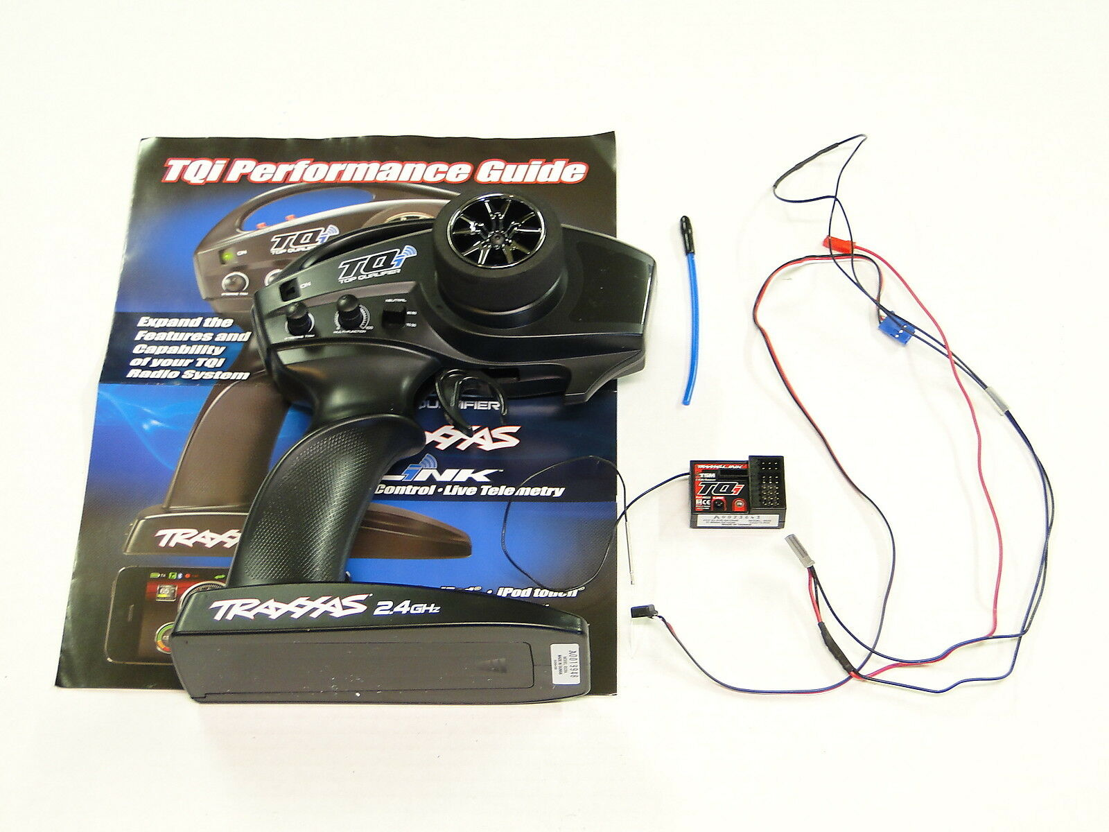 *NEW TRAXXAS 2.4Ghz TQi 2 Channel Radio Set TSM Link Wireless Mod +Telemetry RO