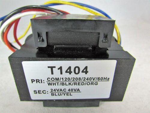 50//60Hz-FOOT MOUNT SEC 24 VAC 120-208-230V PRI TRANSFORMER 40 VA