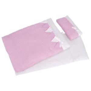 Doll-Bedding-Dolls-Bedding-3-tlg-Pink-Stripes-Goki-51589