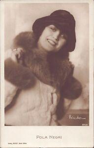 Pola-Negri-Ross-Star-Postcard-Ak-D-180