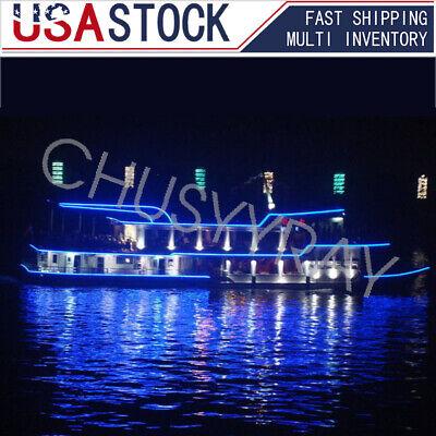 16ft Green Boat Light LED Strip Night Fishing IP68 Waterproof 12v attractant