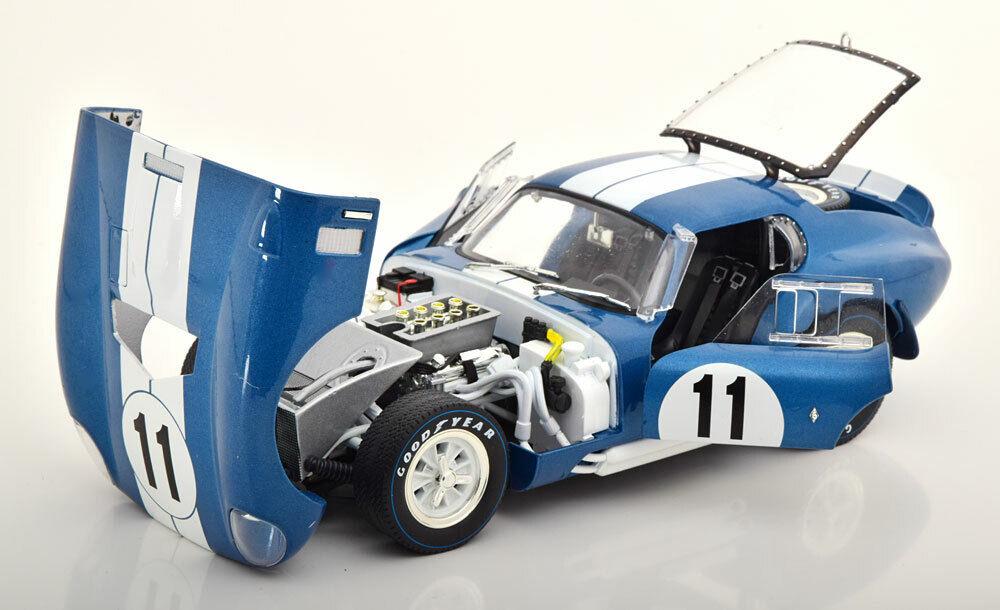 elige tu favorito Cmr Shelby Shelby Shelby Cobra Daytona Coupe 24h Le Mans 1965 Sears Thompson  11 1 18 Escala  venta con alto descuento