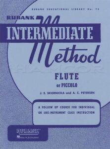 Rechercher Des Vols Rubank Intermediate Method Pour Flûte Ou Piccolo Sheet Music Book Apprendre à Jouer-afficher Le Titre D'origine Frissons Et Douleurs