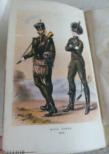 Vintage Book 1877 History Rifle Brigade 95th Sir William Cope Bart Military